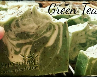 Green Tea Natural Soap