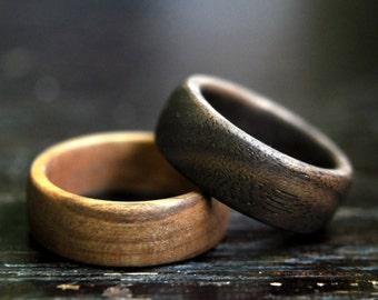 Wood ring - Men - Women - Wood jewelry - Rustic - Boho - Ecofriendly jewelry
