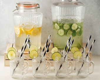 Vintage drinks dispenser for any celebration from weddings to garden parties