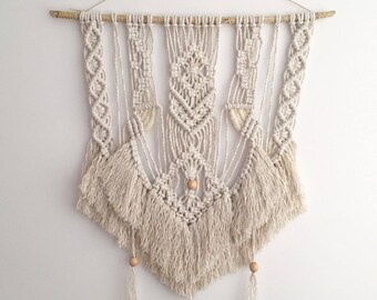 SALE (more than 50% discount!) Macrame/ woven wall hanging - Majestic