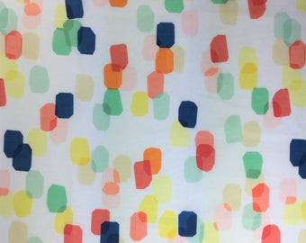 Fabric Remnant - Rectangular Colour Blocks