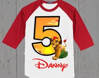 Lion Guard Birthday Shirt