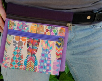 Apache fabric Fanny Pack