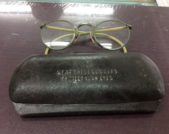 Vintage goggles from the 1930s