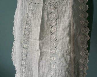 Beautiful lace apron! Brocante kitchen apron #1