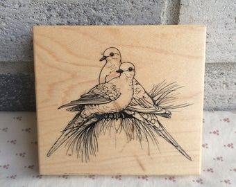 Bird Rubber Stamp Rubber Stamp Hummingbird Rubber Stamp
