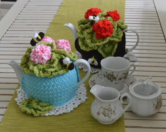 Pelargonium Tea Cosy