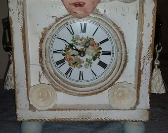 Whimsical clock.