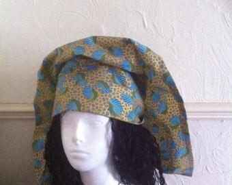 Gorgeous african print head wrap