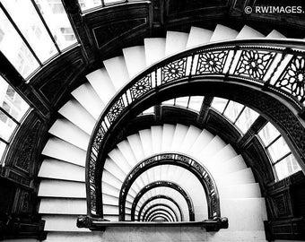 Chicago Architecture Black And White chicago architecture | etsy