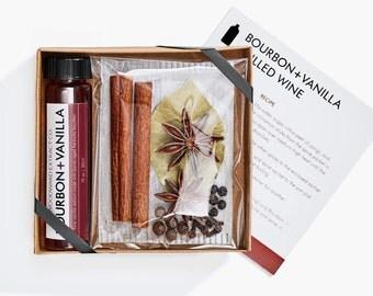 Bourbon + Vanilla Mulled Wine Kit