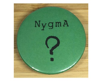 Gotham Nygma metal pin back badge/magnet
