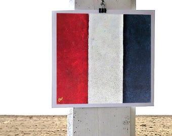 T nautical flag print