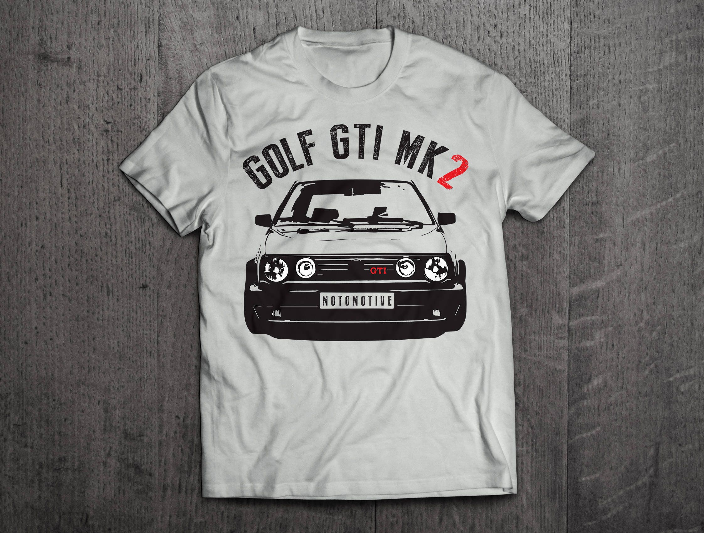 vw golf t shirt golf gti shirts gti mk2 shirts classic. Black Bedroom Furniture Sets. Home Design Ideas