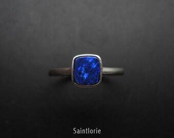 1.5 Carat Opal Engagement Ring