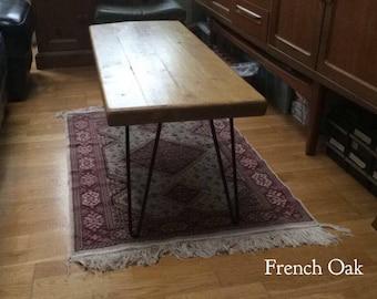 Rustic Hairpin Coffee Table