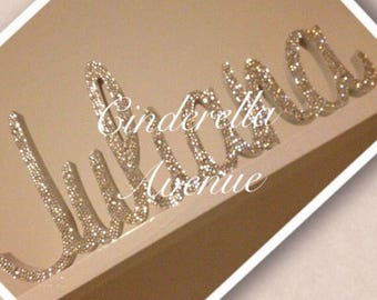 Crystalized Name Plaques