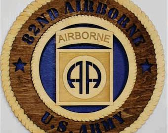 US Army 82nd Airborne Wall Tribute