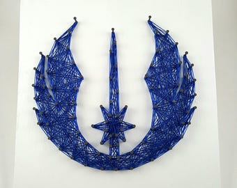 Jedi Alliance String Art Home Decor
