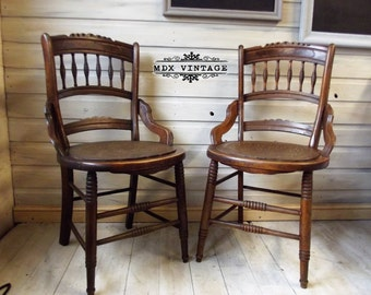 Thonet Style Chairs with spindle back