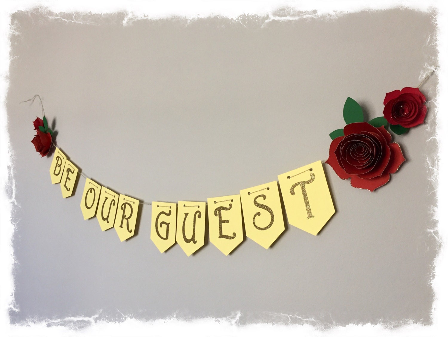 Be Our Guest Banner Beauty And The Beast Bridal Shower