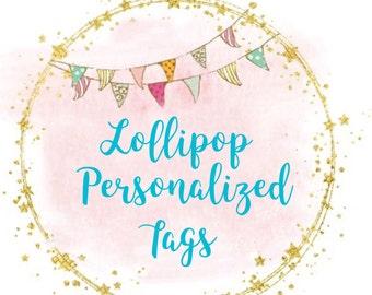 Lollipop Tags
