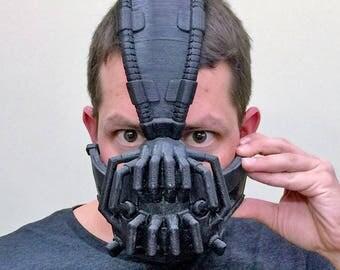 Bane Mask | Batman | Cosplay | Cosplay Mask | Mask | Comic Con | Cosplay Prop | Costume | Prop | Comic Con | Superhero | Geek | Dark Knight