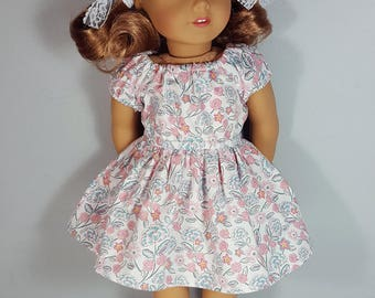 18 inch doll clothing Jules Peasant Dress