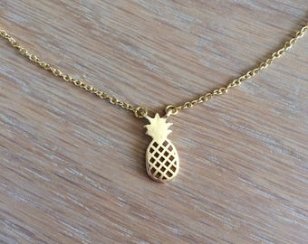 Necklace very pineapple