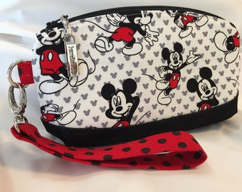 Mickey Mouse Themed Wristlet