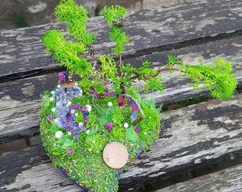 """Pet urn """"Miniature Garden"""""""