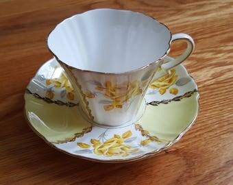 Royal Standard Fine Bone China Margaret Rose Yellow Gift