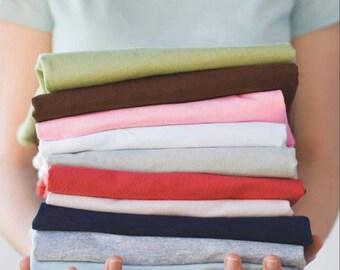 Custom Ladies Organic Cotton Tshirts