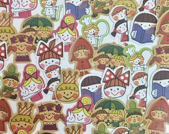 Girly Stickers-Boys and Girls Sticker