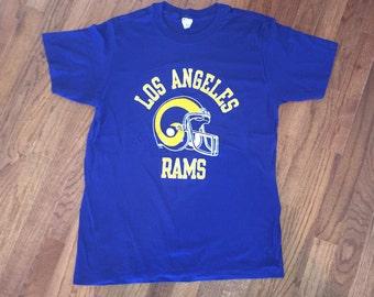 Vintage LA Los Angeles Rams t shirt sz M/L