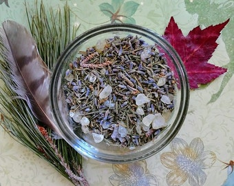 Fairy Smoke loose incense, Forest Herbs Aromatherapy Blend, Nature Spirits Offerings, Unique Gift for Pixies Faeries Forest Nymph Lovers