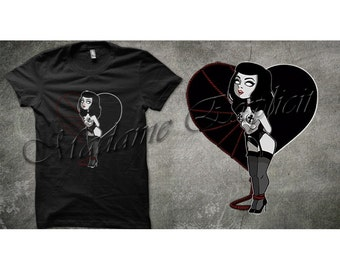 T-shirt Bettie Page EXPLICITWEAR