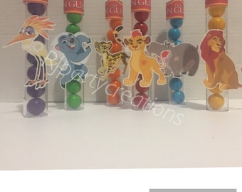 12 Lion Guard Candy tubes