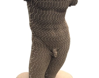 Mans Statue