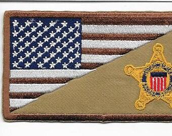 US Secret Service USSS Iraq & Afghanistan War on Terrorism Service Desert Patch
