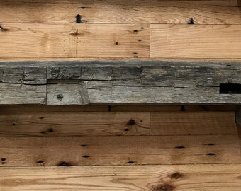 Hand Hewn Beam 9' Long