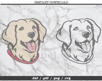 labrador retriever cut file,SVG, DXF, PNG, Cricut, Silhouette,cutting machine,clipart,screen print,outdoors,dog owner,pet lover,lab,golden