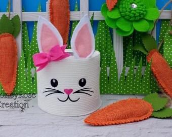 Easter bunny toilet paper.Bunny toilet paper.