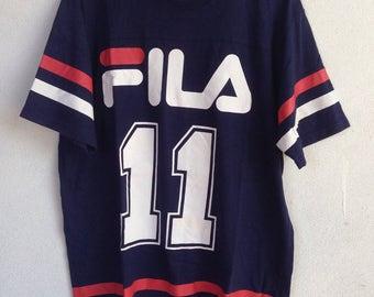Fila raglan tshirt fila number 11 XL