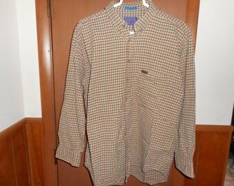 20% OFF Men's Pendleton Plaid Shirt, Vintage 80's/90s plaid Button Down Sizz Large Nice  E6