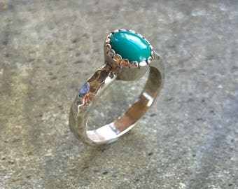 Turquoise Ring, Natural Turquoise, December Birthstone, Sleeping Beauty, Real Turquoise, Sleeping Beauty Ring, Solid Silver Ring, Turquoise