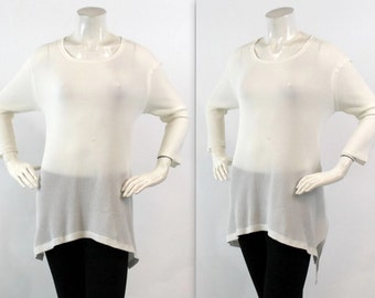 Trendy, Full Sleeved Top, Tunic, Hi Lo Top, Asymmetrical Top, Regular size Top, Boho Sizes S, M, L