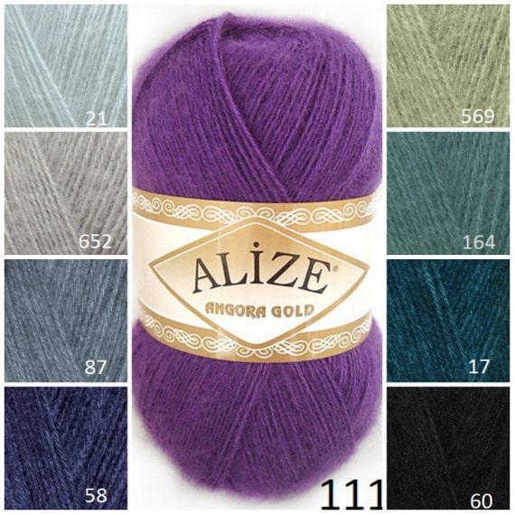 Knitting Supplies Uk : Items similar to alİze angora gold knitting supplies