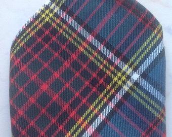 Anderson Scottish Tartan Gents Pocket Square Handkerchief