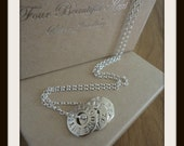 You're entirely bonkers 3 Disc necklace 15.00 GBP OFF